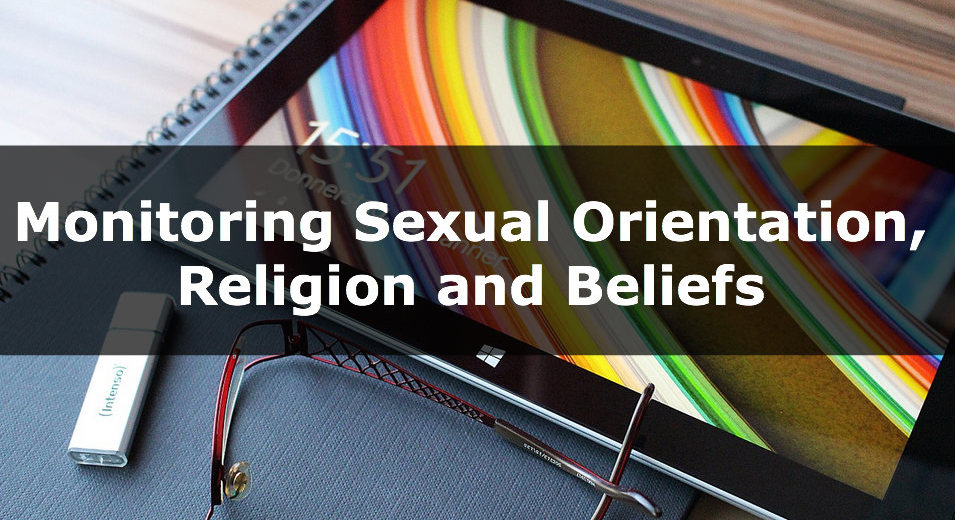 Monitoring Sexual Orientation Religion and Beliefsst