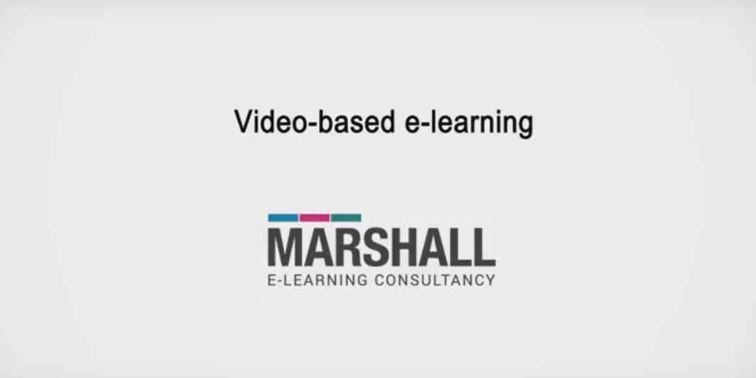 video elearning course