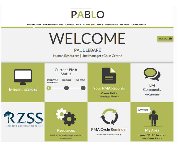 Pablo  The Online Performance Appraisal Tool
