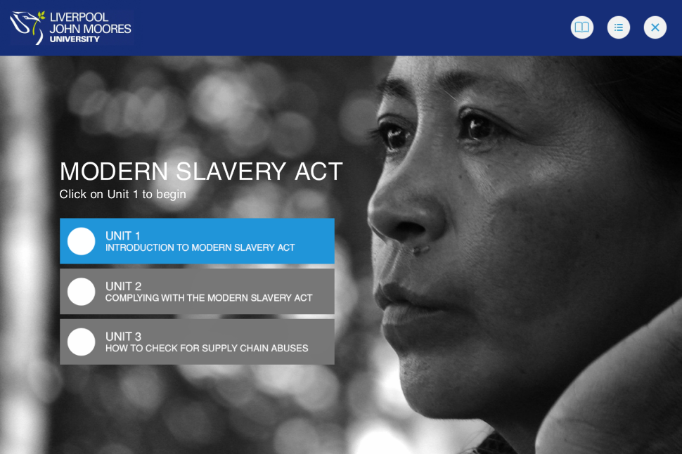 modern slavery act training course