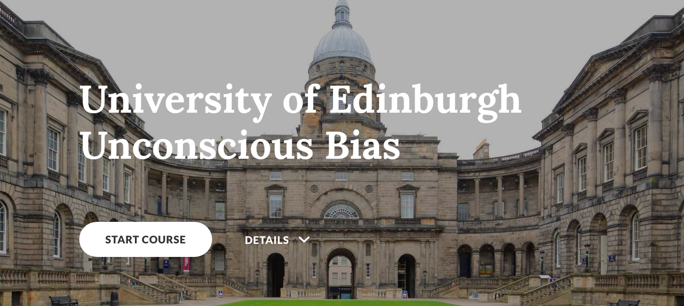 University Students and Unconscious Bias Training