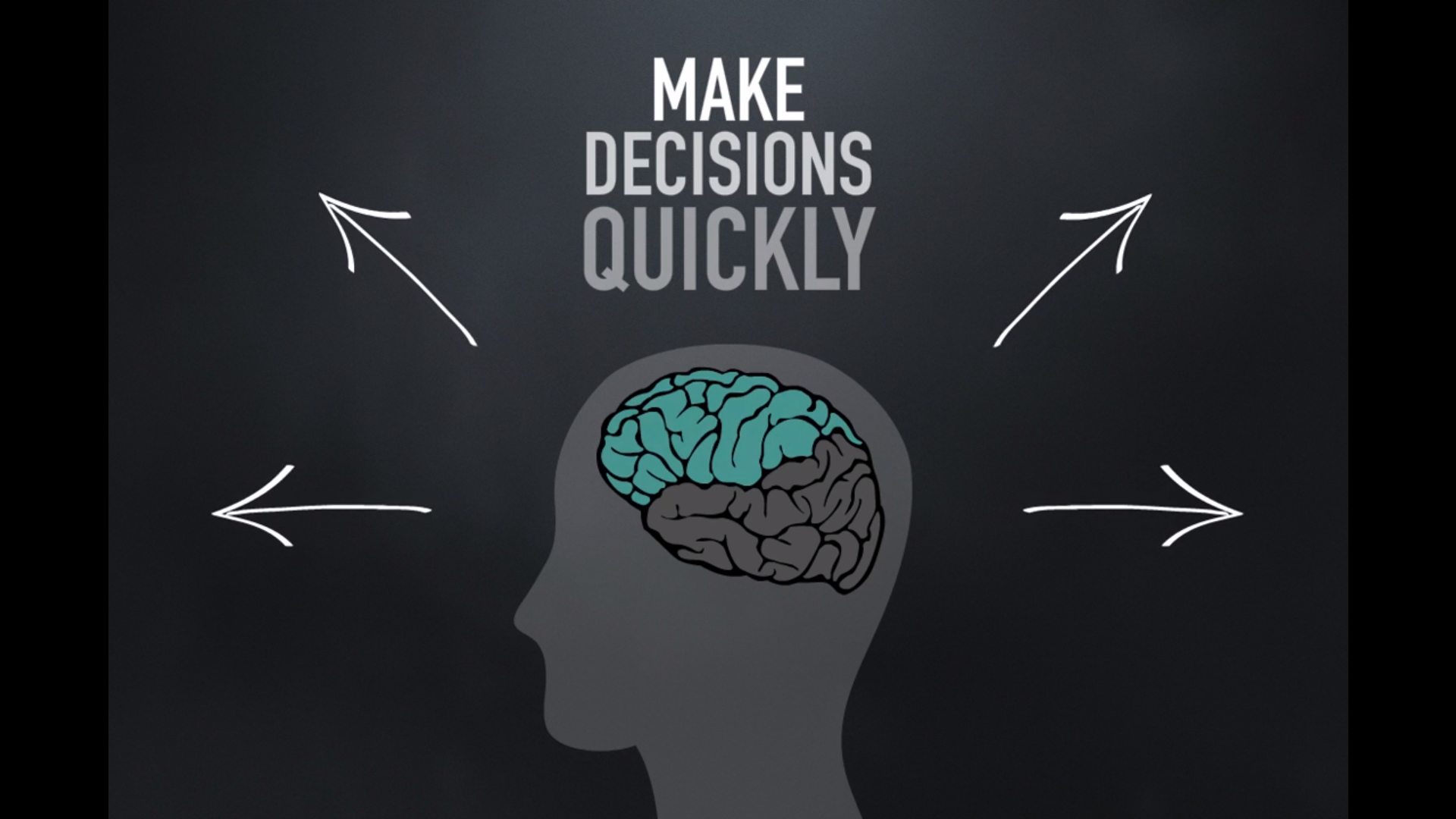 Brain making decisions